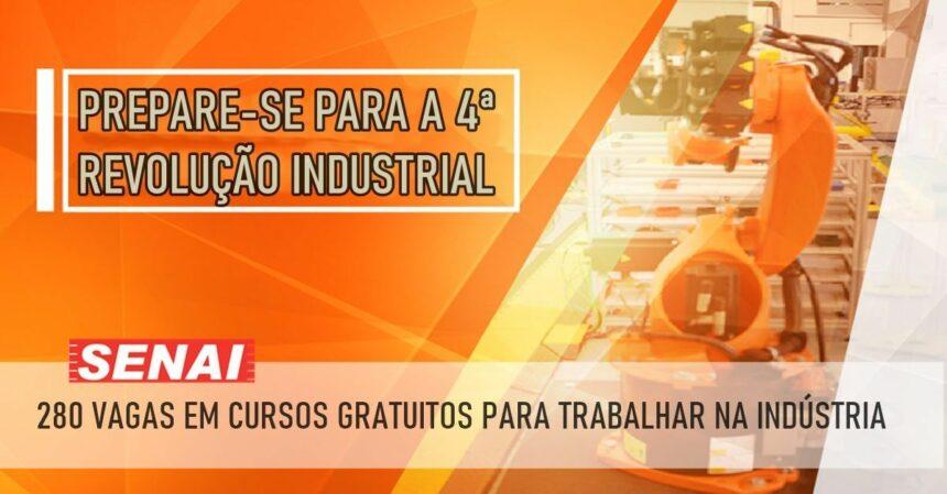 CURSOS GRATUITOS SENAI INDÚSTRIA 4.0