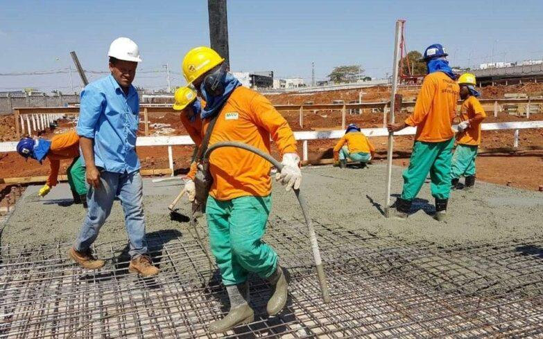 Vagas de emprego, construção civil, eletricistas, pedreiros, São Paulo