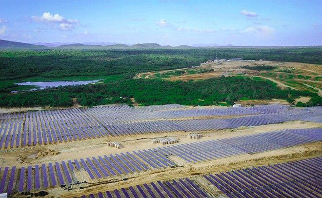 energia solar - usina - huawei