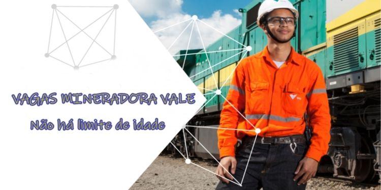 mineradora Vale, vagas sem experiência, recém formados, trainee, recrutamento e seleção