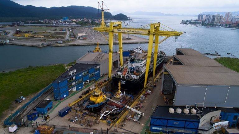 Construção naval: Wilson Sons firma parceria com multinacional holandesa para construção de Navio de Apoio da Marinha do Brasil