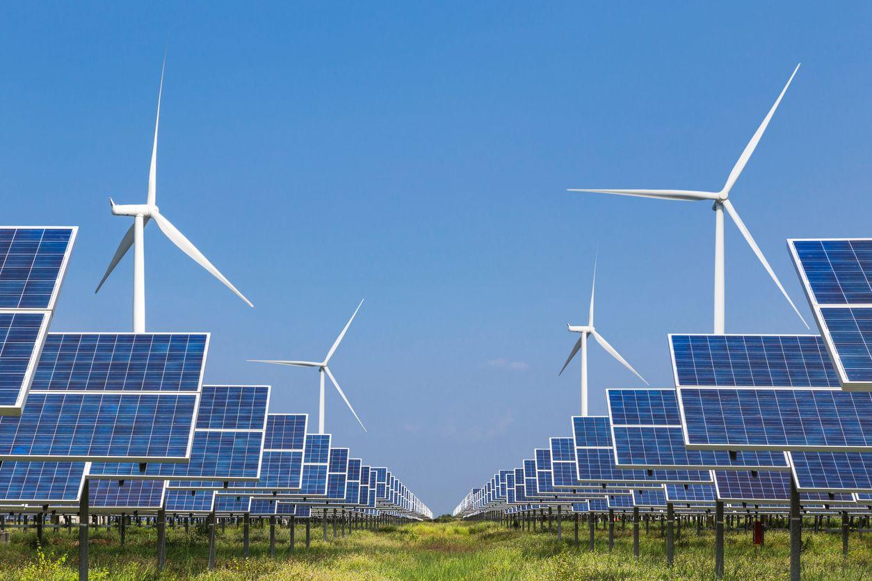 energia renovável - energia nuclear