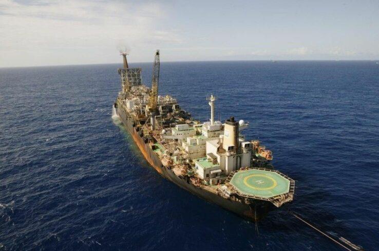 Petrobras atinge marca história de produção de petróleo no Campo de Tupi, situado no pré-sal da Bacia de Santos
