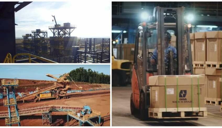vagas de emprego em MG na Companhia Brasileira de Metalurgia e Mineração de nióbio CBMM
