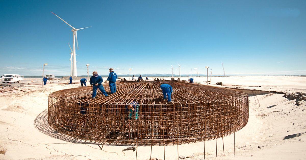 energia eólica na Bahia - AES Tietê - Unipar