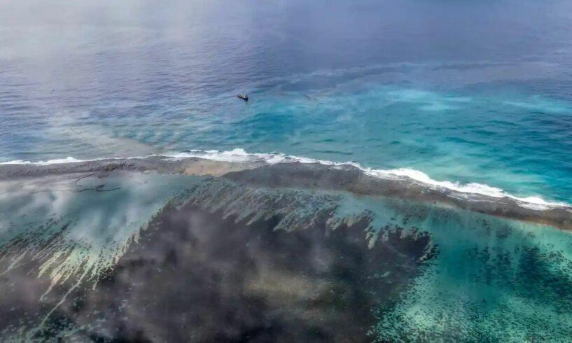 Venezuela, PDVSA, vazamento de petróleo no mar do Caribe