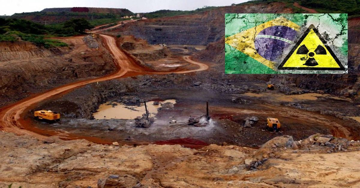 energia nuclear, Governo do Brasil produção urânio