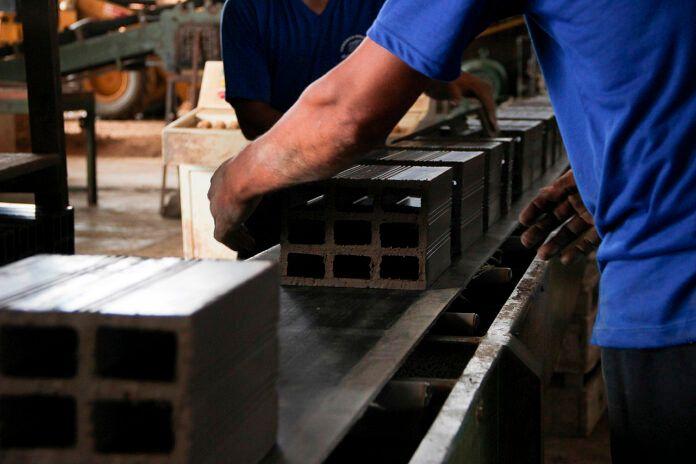 construção civil - carbono - klabin