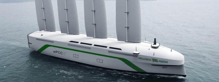 energia eólica - navio
