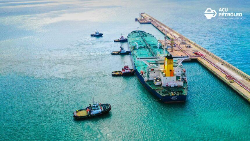Açu Petróleo e Wilson Sons assinam contrato para disponibilizar rebocadores no Terminal 1 do Porto do Açu, no Rio de Janeiro