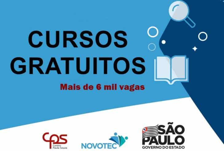 Mais de 6 mil vagas para cursos técnicos gratuitos são disponibilizadas para a região de São Paulo
