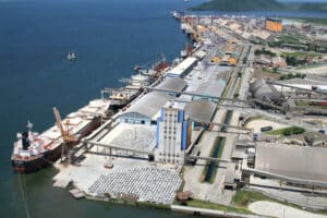 China - carbono - marítimo
