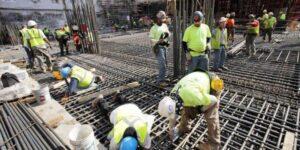 emprego em obras de construção civil em Minas Gerais