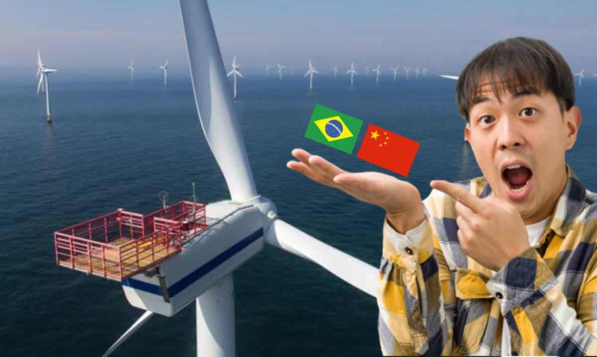 Energia Eólica Offshore Ceará Chinesa