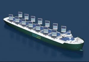 energia renovável - navios