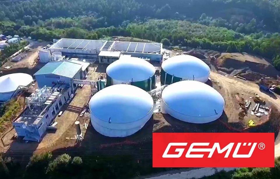 GEMU planta de biogás