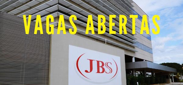 JBS - vagas de emprego - MS