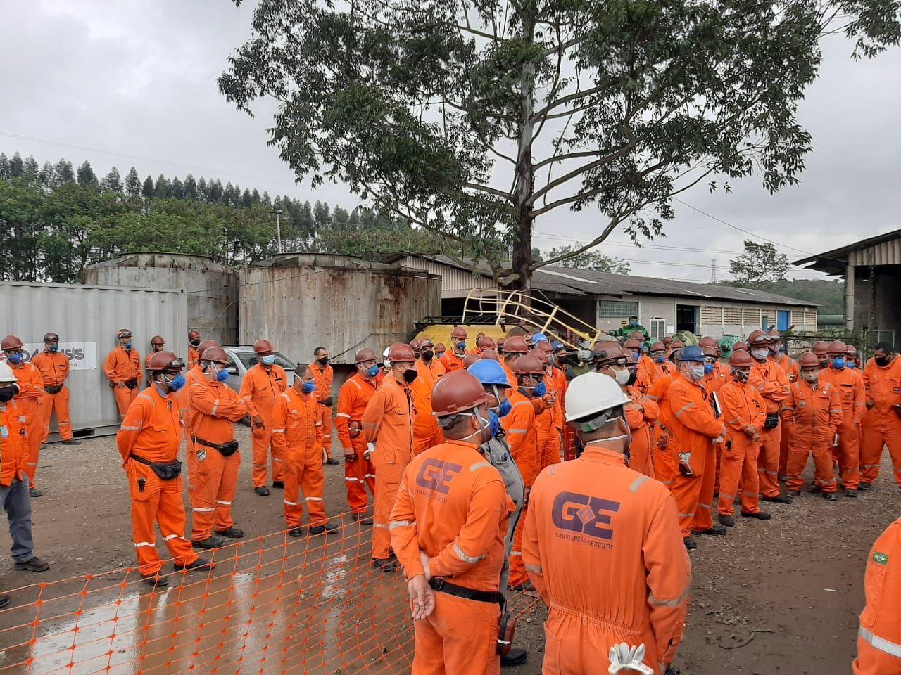 Petrobras Refinaria G&E Manutenção e Serviços São Paulo