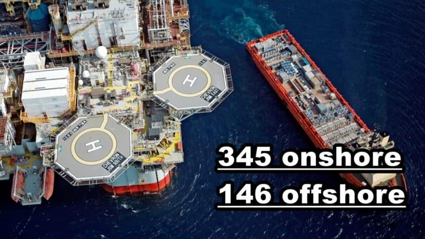 Petrobras perfuração offshore onshore pré-sal