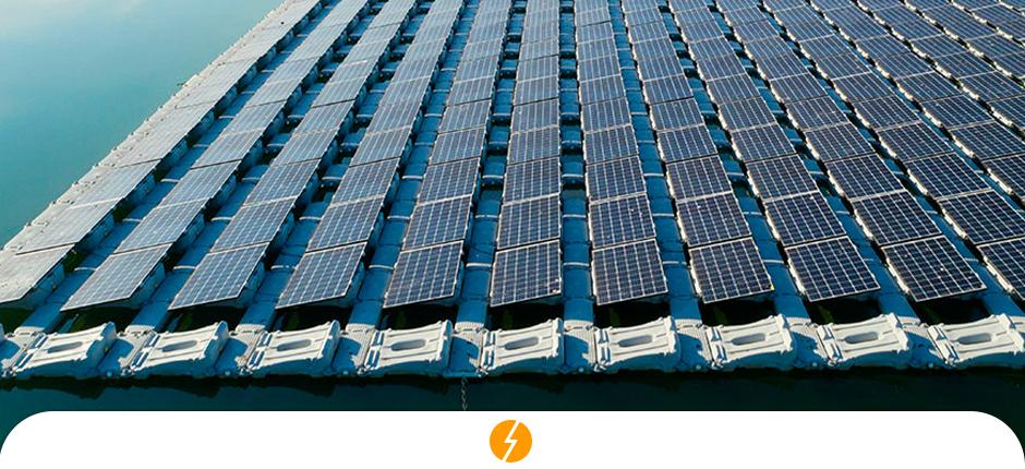 usinas solares flutuantes - são paulo - represa - energia