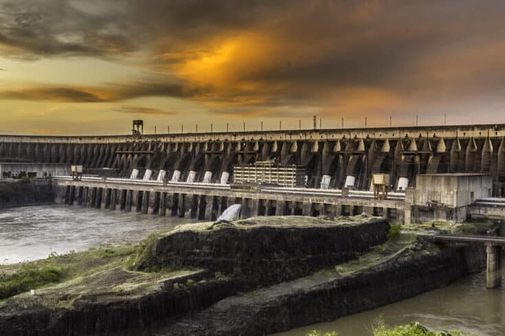 Usina, hidrelétrica, Itaipu, energia