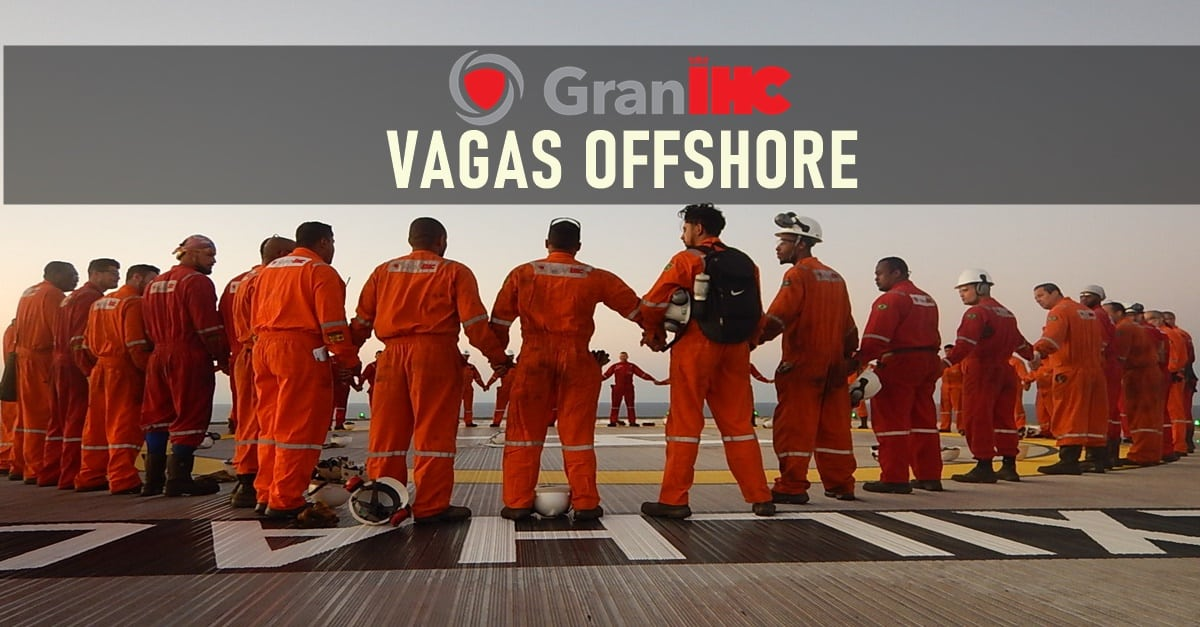 emprego - offshore - vaga