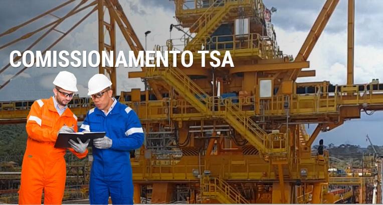 Técnicos e engenheiros são convocados para atender demanda de comissionamento na região Norte do Brasil pela empresa TSA, neste dia 05