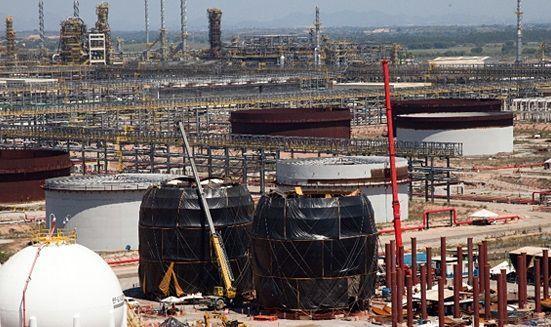 Comperj - Petrobras - obras - Itaboarí