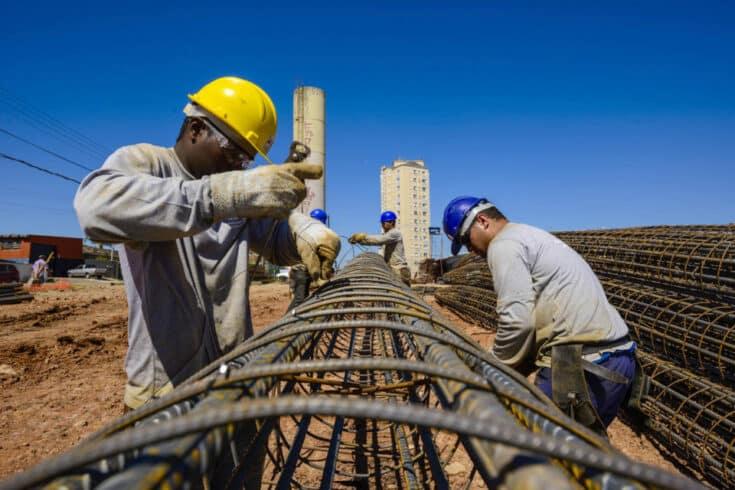 construção civil - siderurgia