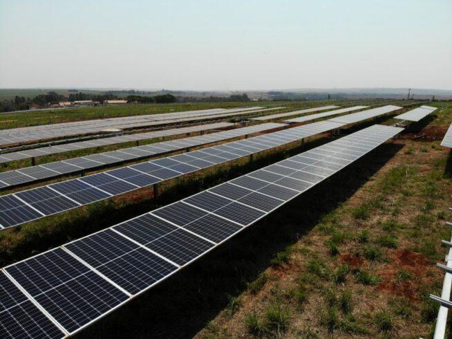 energia solar - usina - copel
