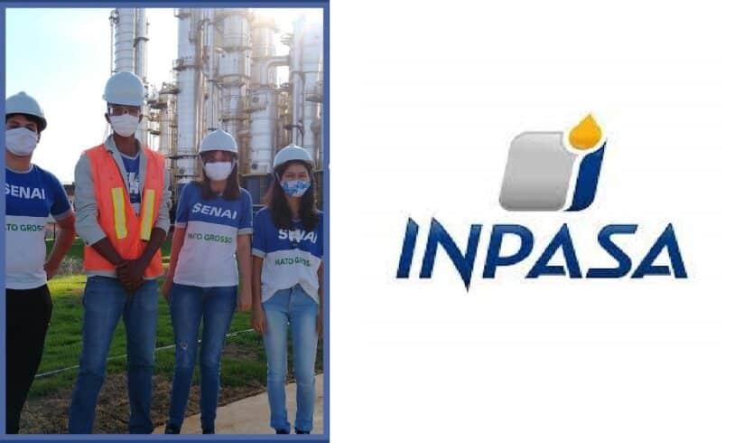curso de Aprendizagem em Mecânica Industrial em parceria com a Inpasa Brasil Nova Mutum Sinop