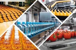 indústria Alimentos e Bebidas negócios