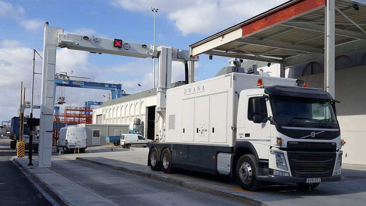 Terminal Portuário - Segurança - container