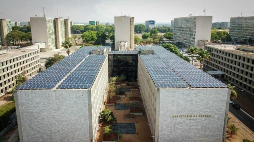 usina solar fotovoltaica da Esplanada dos Ministérios