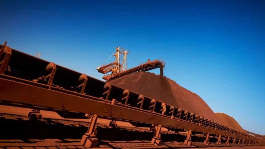 Vale - exportações - minério de ferro