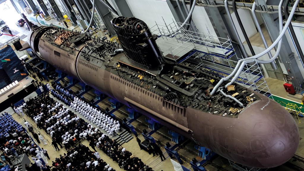 Submarino - ICN - NUCLEP - Marinha do Brasil