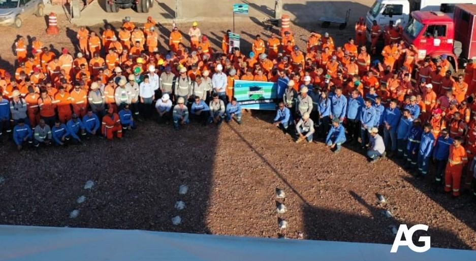 A empresa de obras Andrade Gutierrez Engenharia está com vagas de emprego na construção civil para diversas funções neste dia 09 de outubro