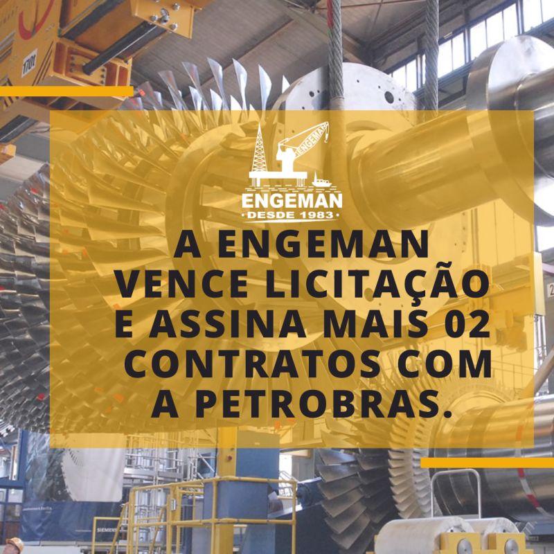 contrato Engeman com a Petrobras