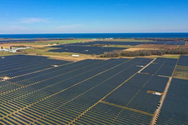 Wisconsin - energia solar -usina