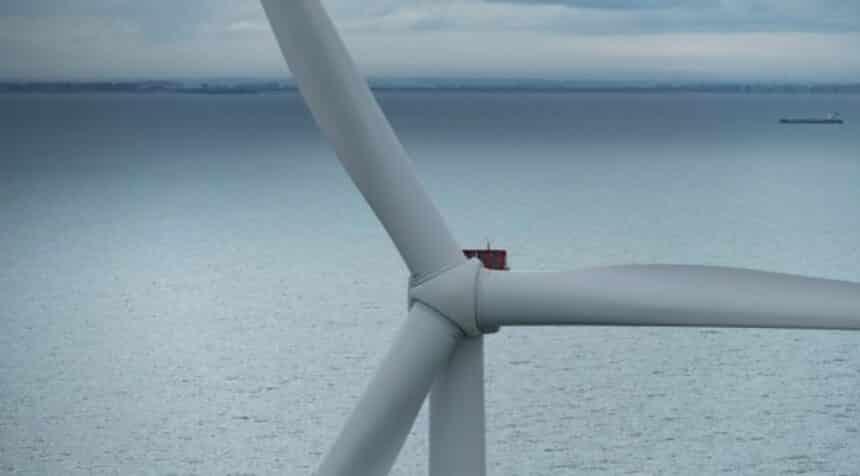 Turbina eólica - energia eólica - offshore