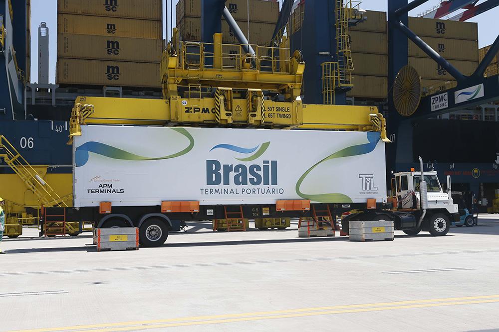 Mecânico, operador, motorista, Porto de Santos