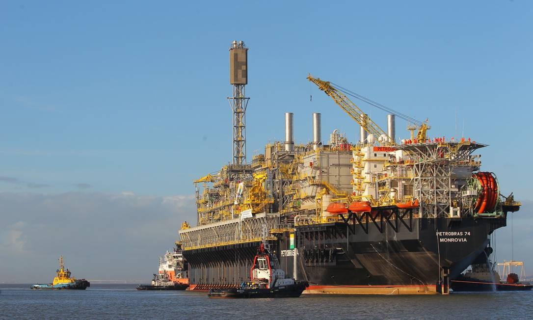 Petrobras - campo de búzios - Petróleo
