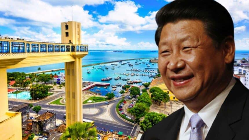 China investimento Bahia Chineses construção ponte itaparica