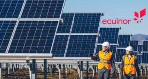 Equinor, energia renovável, investimentos
