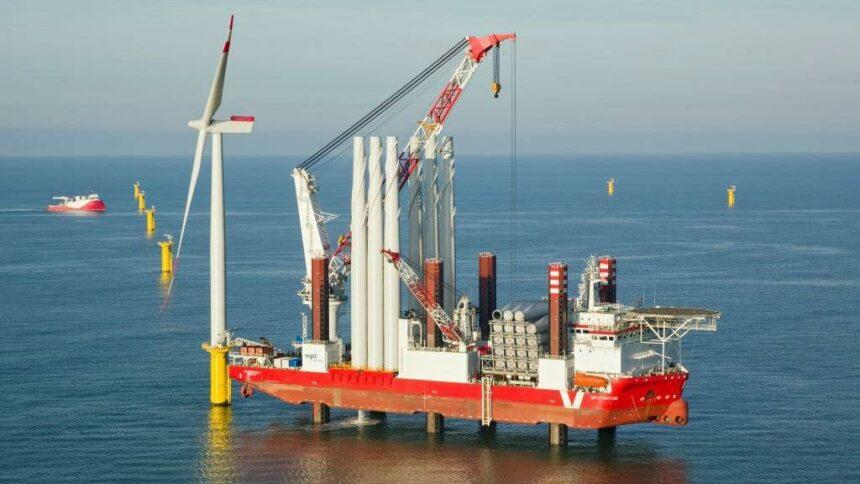 offshore, navio, parques eólicos