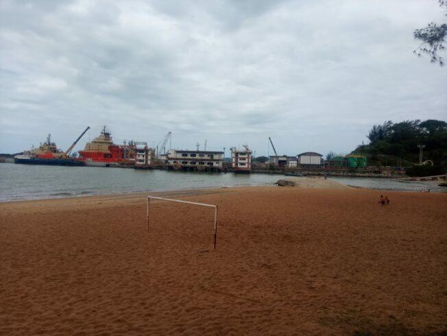 Macaé Porto Petrobras Imbetiba Petróleo