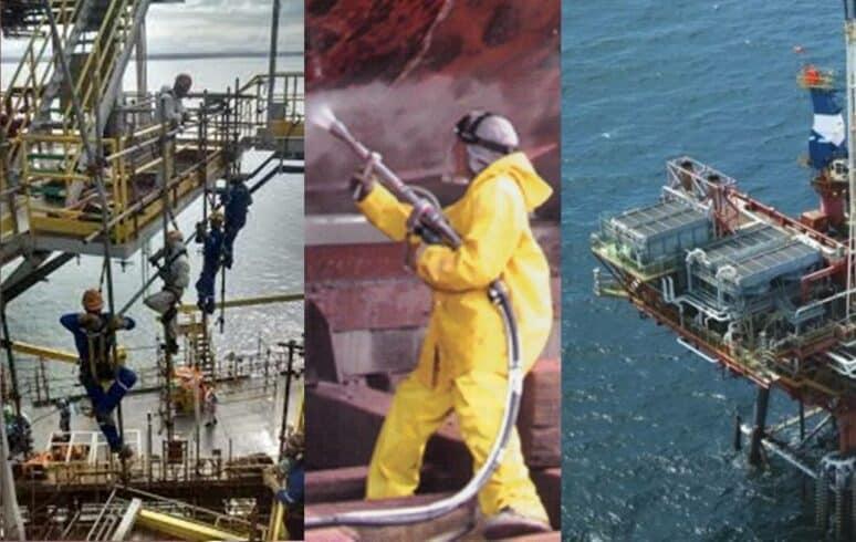 Macaé vagas de emprego offshore Montadores de Andaime e Pintores 90
