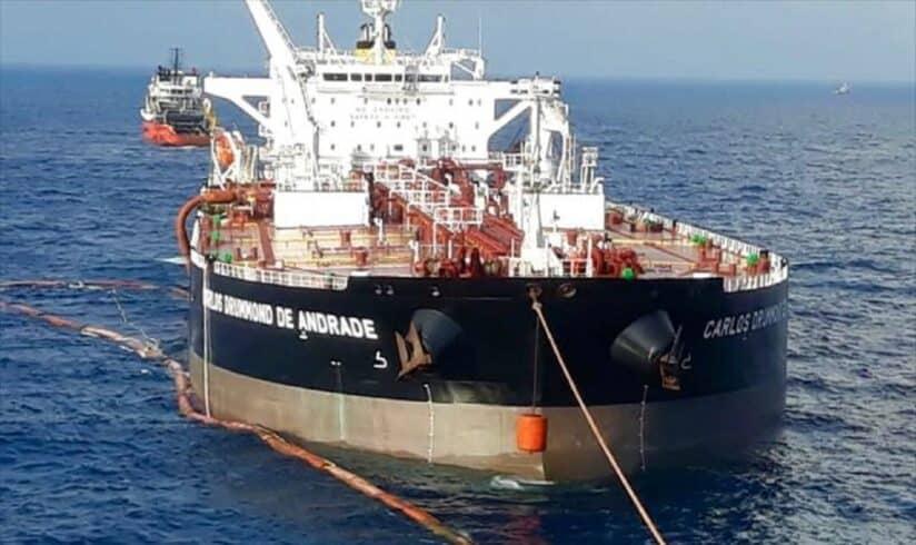 Navio Transpetro Suape Carlos Drummond de Andrade