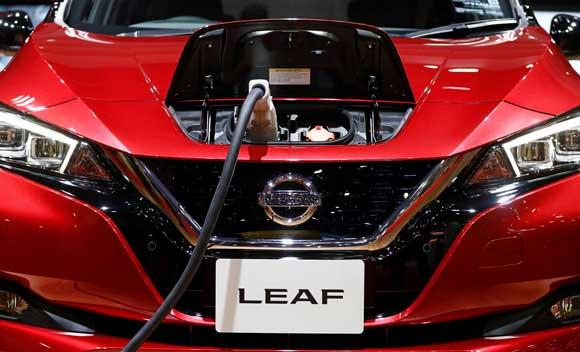Carros elétricos- Nissan - China