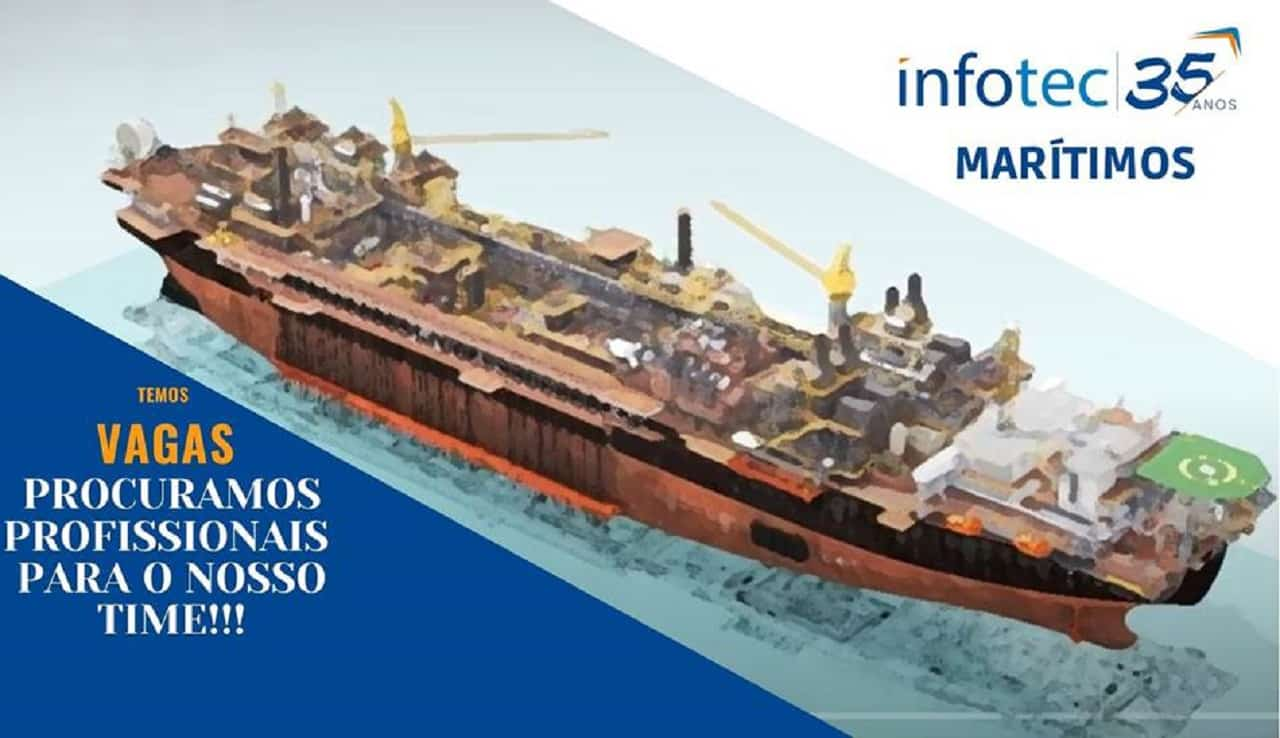 Novas oportunidade de Marítimos na empresa INFOTEC BRASIL [27-11-2020]